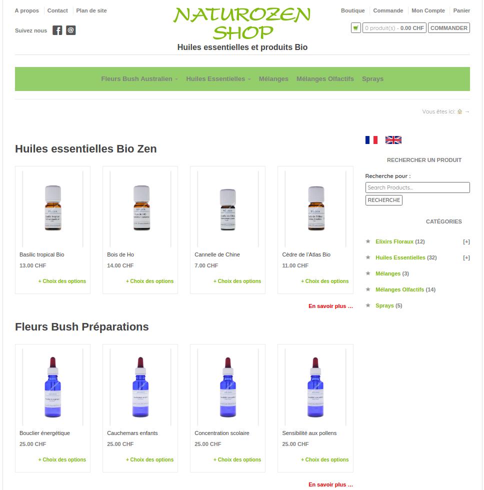 shop naturozen